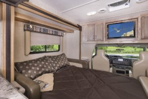 BT Cruiser 5230 with Tri-Fold Sofa Bed open