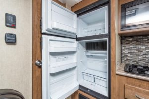 Inside look at the big refrigerator