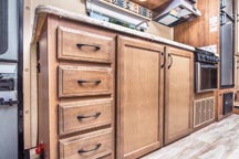 New for 2018 - Stylish Maple Cabinetry