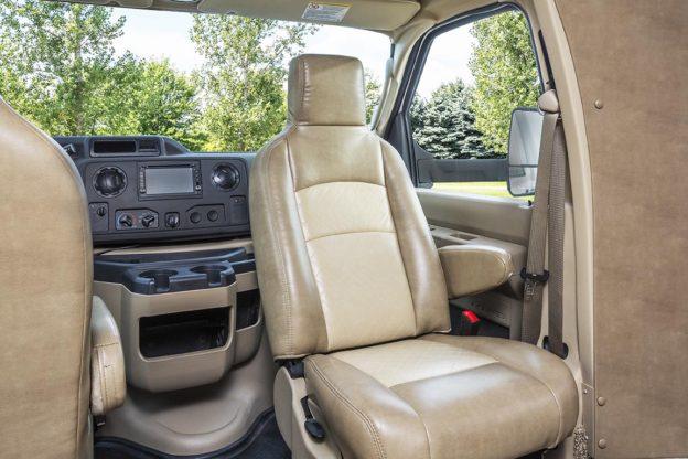 Motor Homes Now Offer Swivel Seats