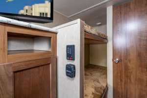 Ameri-Lite Entertainment Center and Bunks
