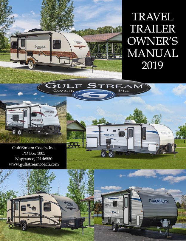 2019 Gulf Stream Coach Travel Trailer Owner's Manual