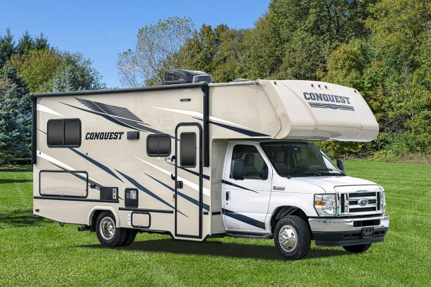 The Conquest Class C 6238 - An ideal choice for first-time motor home buyers