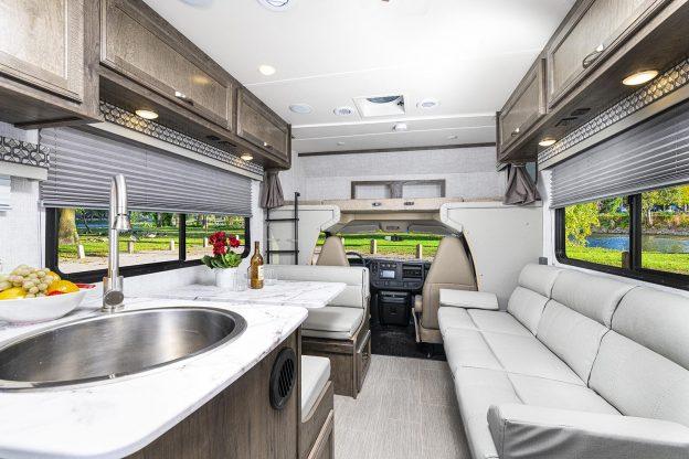 New interior decor for Gulf Stream Coach motor homes