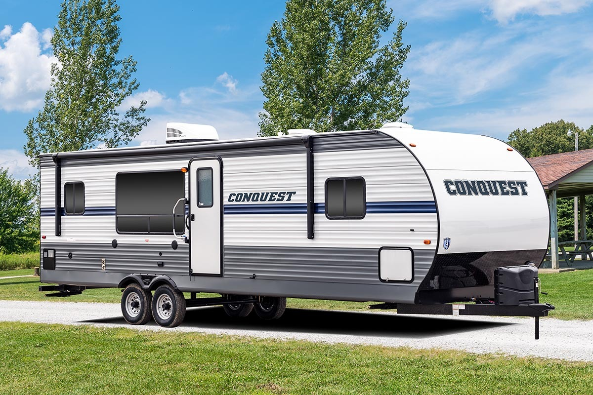As one of the most enduring and respected brands in the RV industry,  Conquest travel trailers give you and your family the ideal combination of  quality, ...